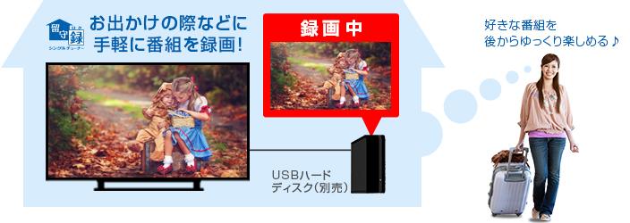 東芝 REGZA レグザ S10シリーズ_録画