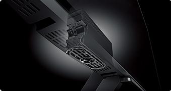 東芝 TOSHIBA レグザ REGZA 50Z20X 58Z20X 65Z20X_高性能フルレンジスピーカー