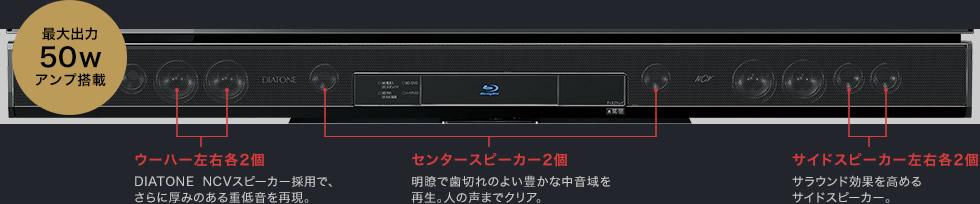 三菱電機 REAL LASERVUE LCD-50LSR6 LCD-39LSR6_音質