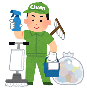 液晶テレビ清掃
